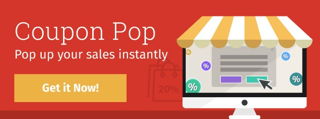 Coupon Pop - Increase your sales and leads