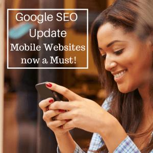 Google SEO Update Mobile for eCommerce