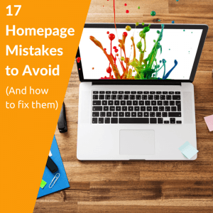 17 Homepage Mistakes to Avoid