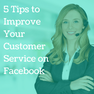 Customer service on facebook