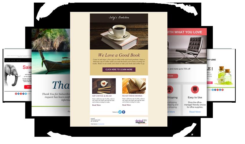VerticalResponse Email Marketing Platform
