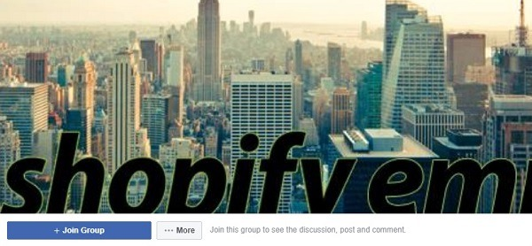 My Shopify and Ecom Empire facebook group 22