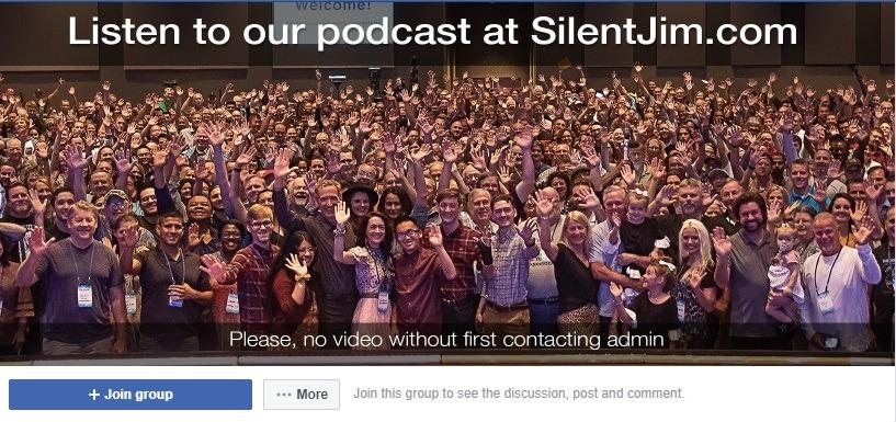 MySilentTeam Facebook ecommerce group 1
