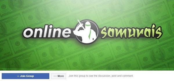 facebook group for online samurais 333