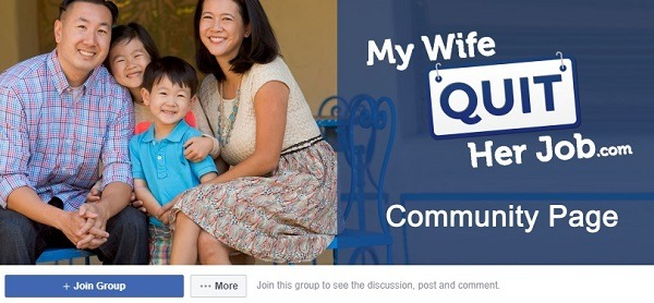 my wife quite her job facebook group 3333