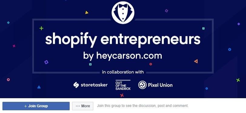 shopify entrepreneurs facebook group 444
