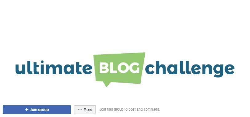 the ultimate blog challenge facebook group