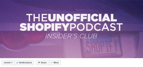 unofficial shopify podcast facebook group 333