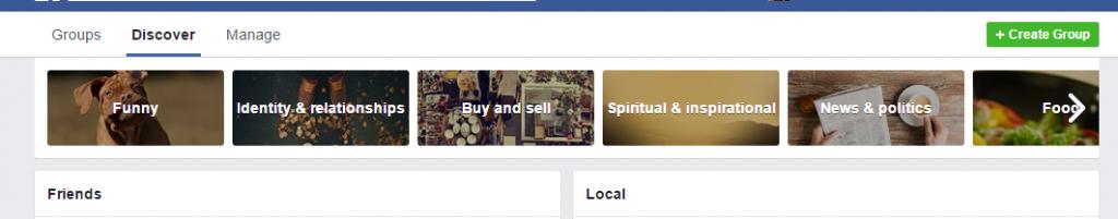 Facebook Group Discover
