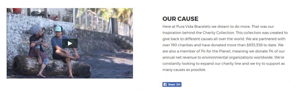 about page charity