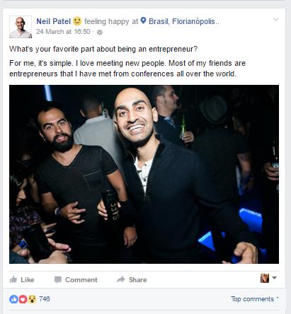 Neil Patel on Facebook