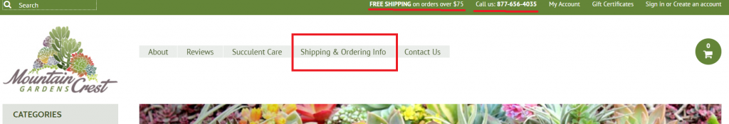 example of good ecommerce return policy