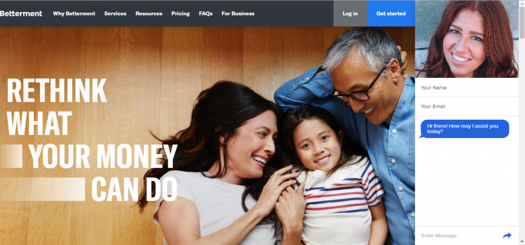 Betterment Uses Live Chat to Put a Friendly Face on Your Financial Future