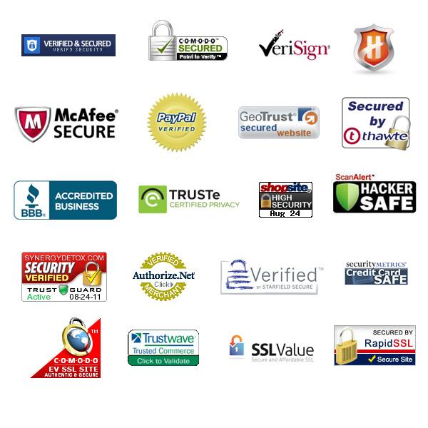 eCommerce trust badge examples
