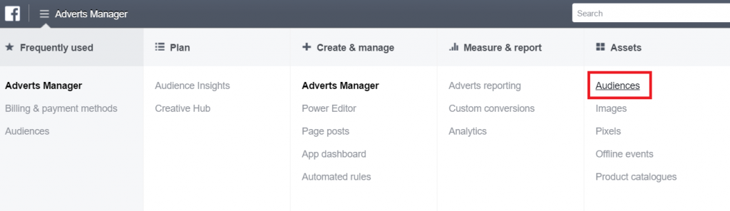 how to set up facebook remarketing campaign