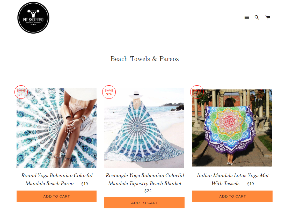online stores selling beach blanckets