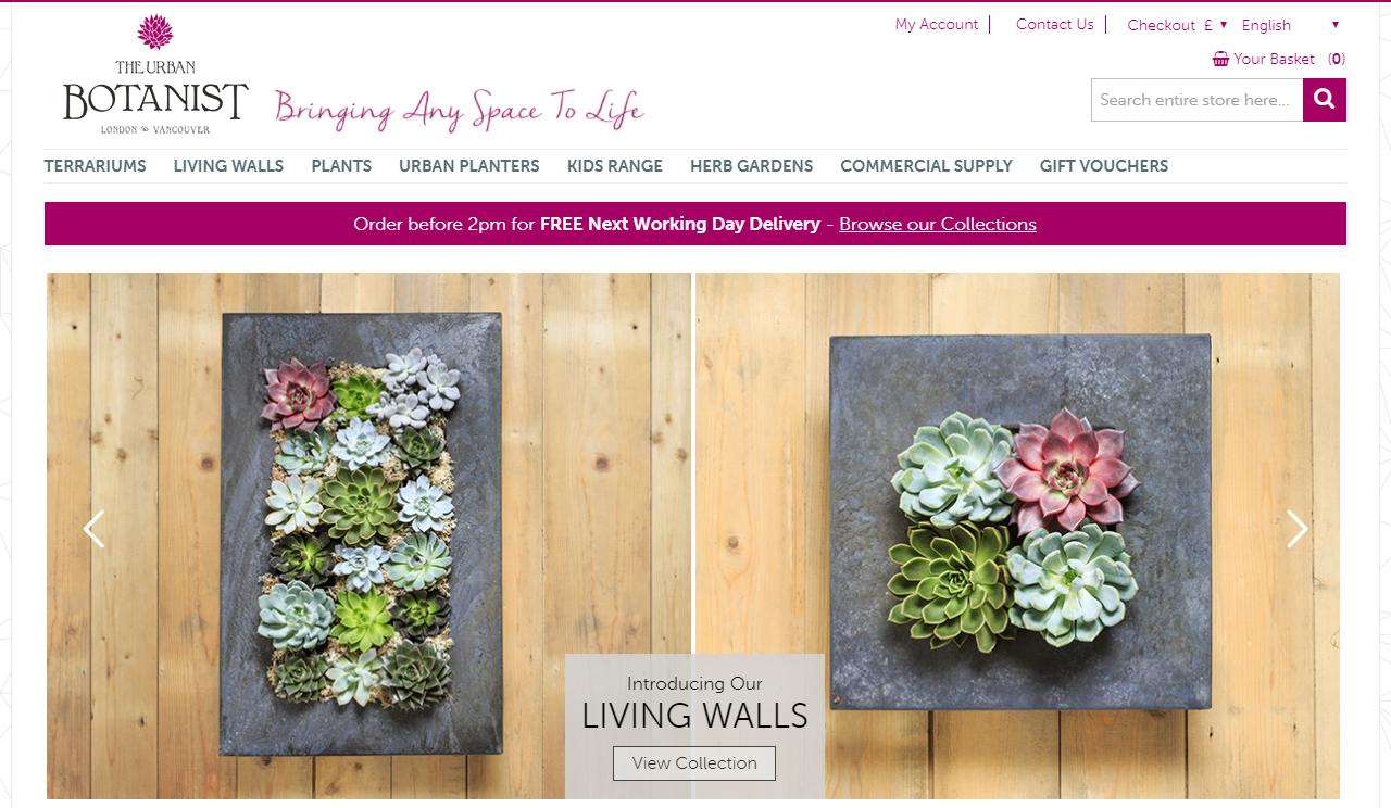 the urban botanist online shop