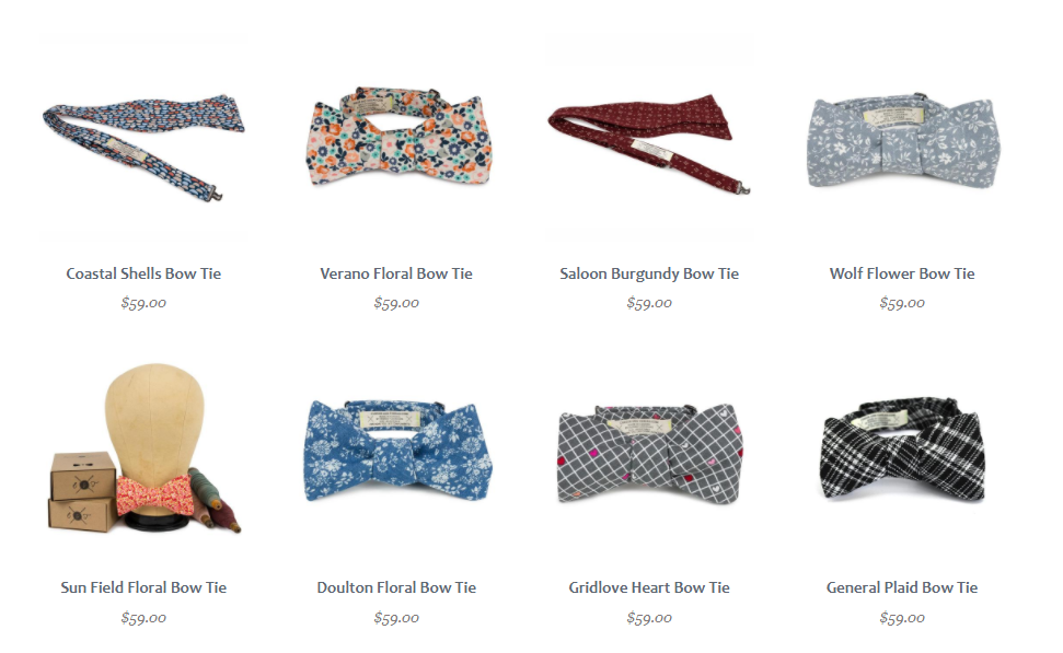 bow ties you can make and sell