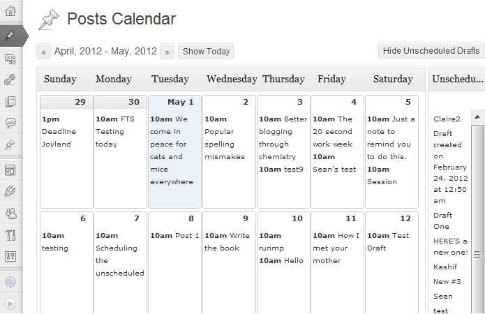 wordpress-editorial-calendar