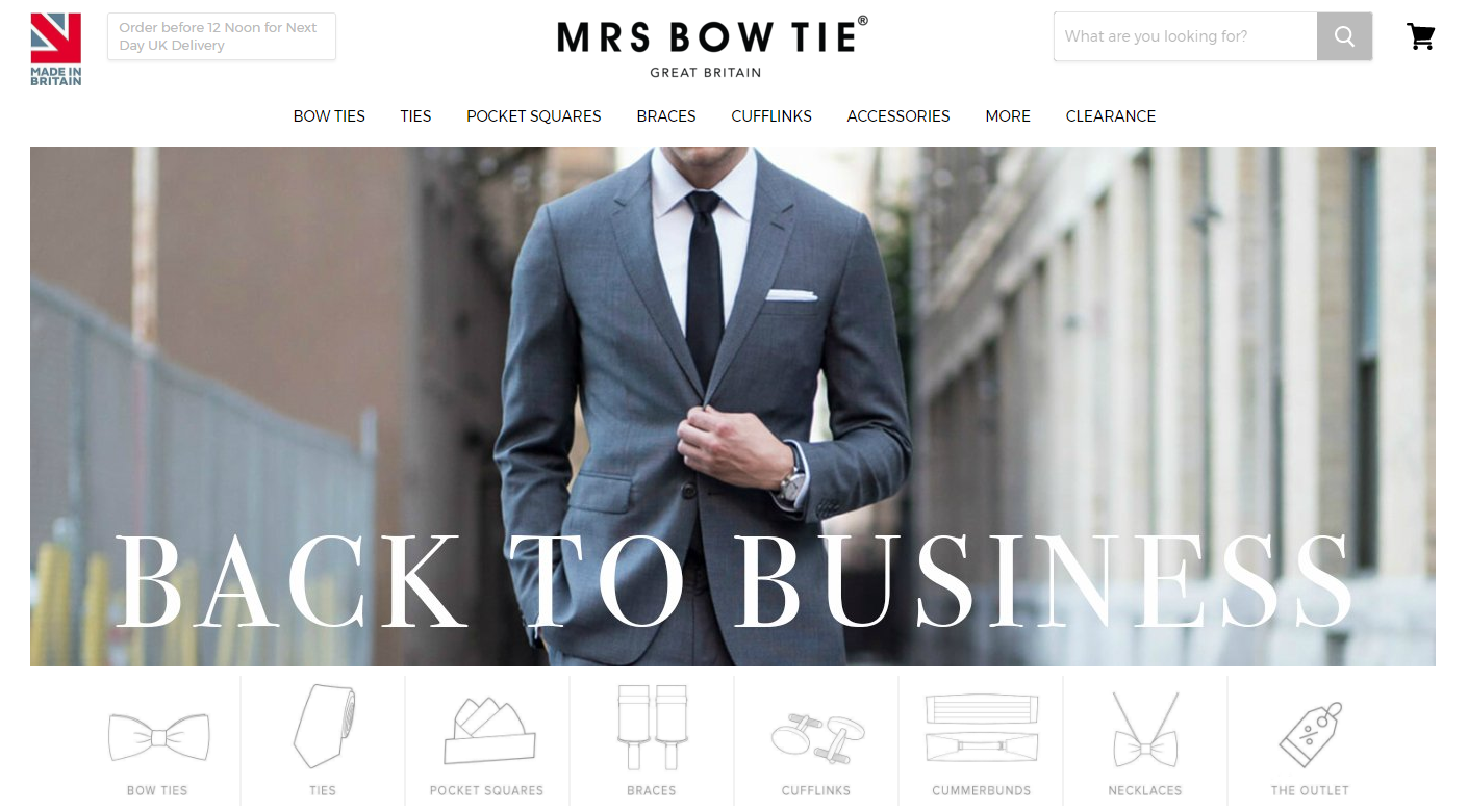 leading online clothing store