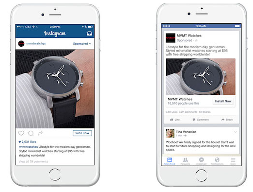 leveraging FB and Insta ads for brand
