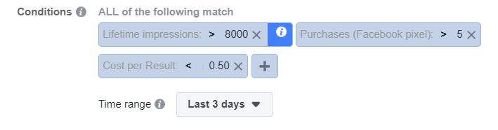 manage facebook automated rules 3