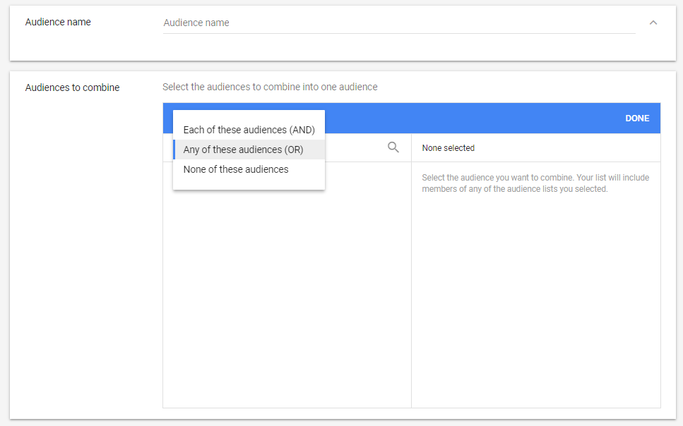 how to create remarketing lists in AdWords