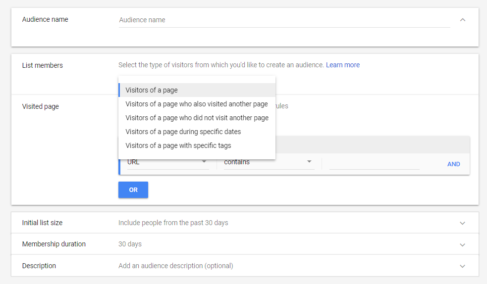 how to build remarketing campaigns to website visitors