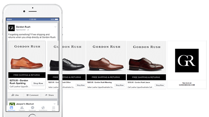 Facebook Dynamic Product Ad Optimization