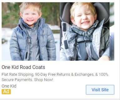 example of good eCommerce google ad