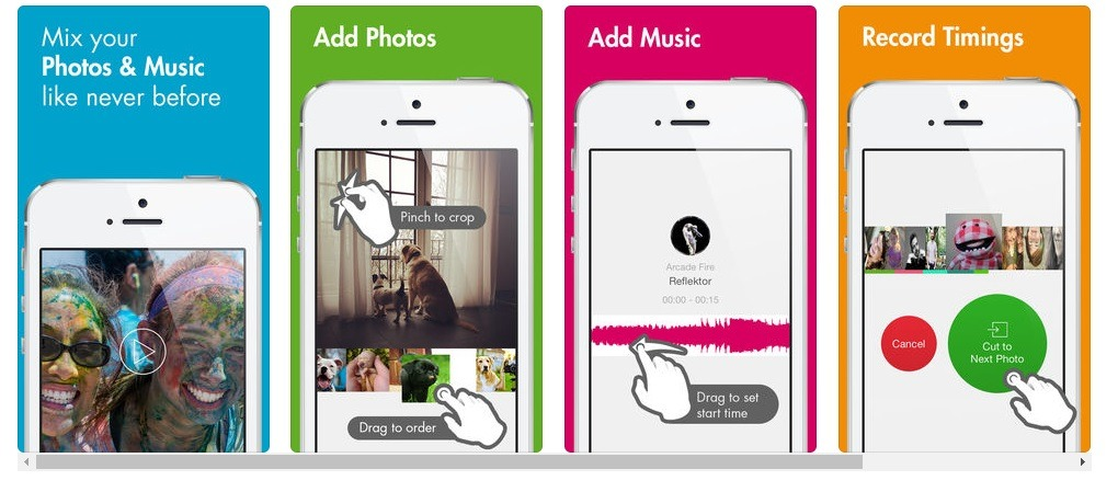 app to make video slideshows for iphone