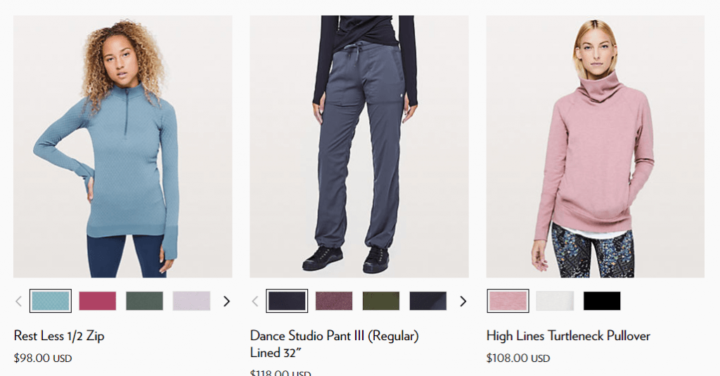 top selling Athleisure brand