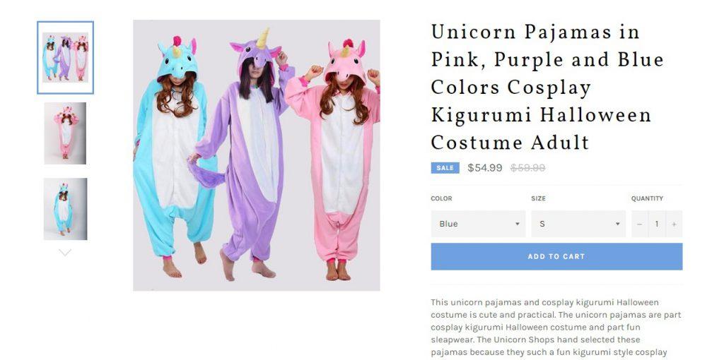unicorn product examples