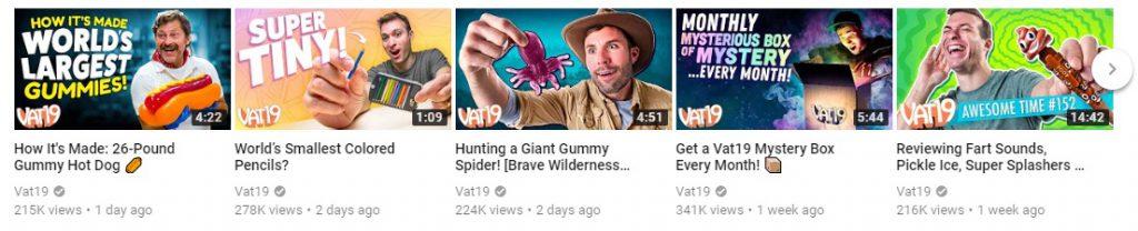 VAT ecommerce youtube channels
