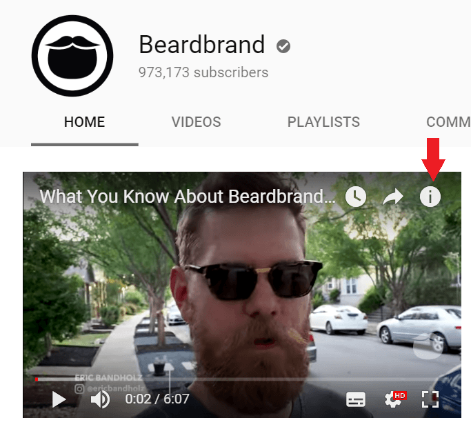 using youtube cards to sell products