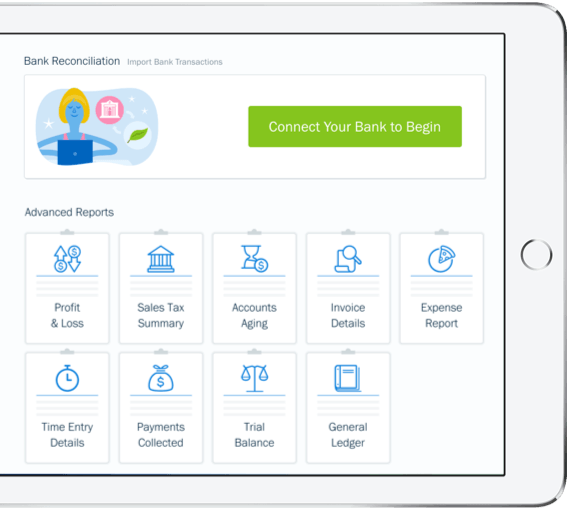 all-in-one invoicing and accounting solution for small businesses
