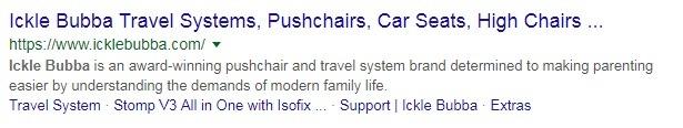example of good homepage meta description