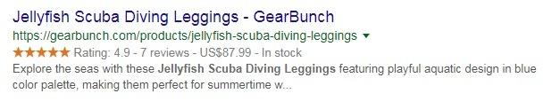 example of good product meta description