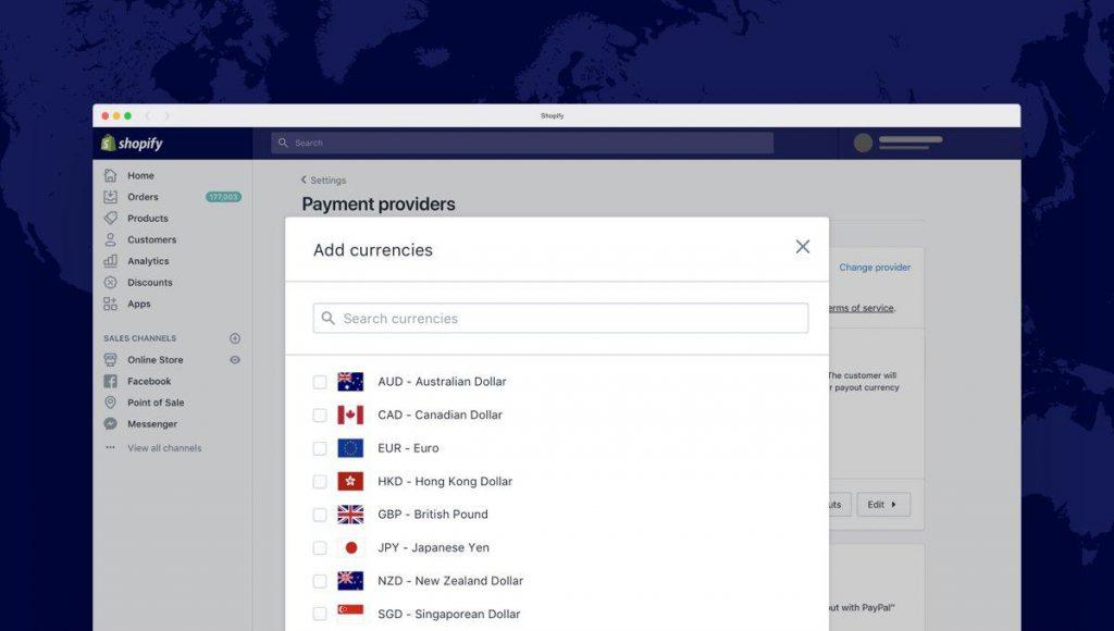 Shopify Plus multi-store options