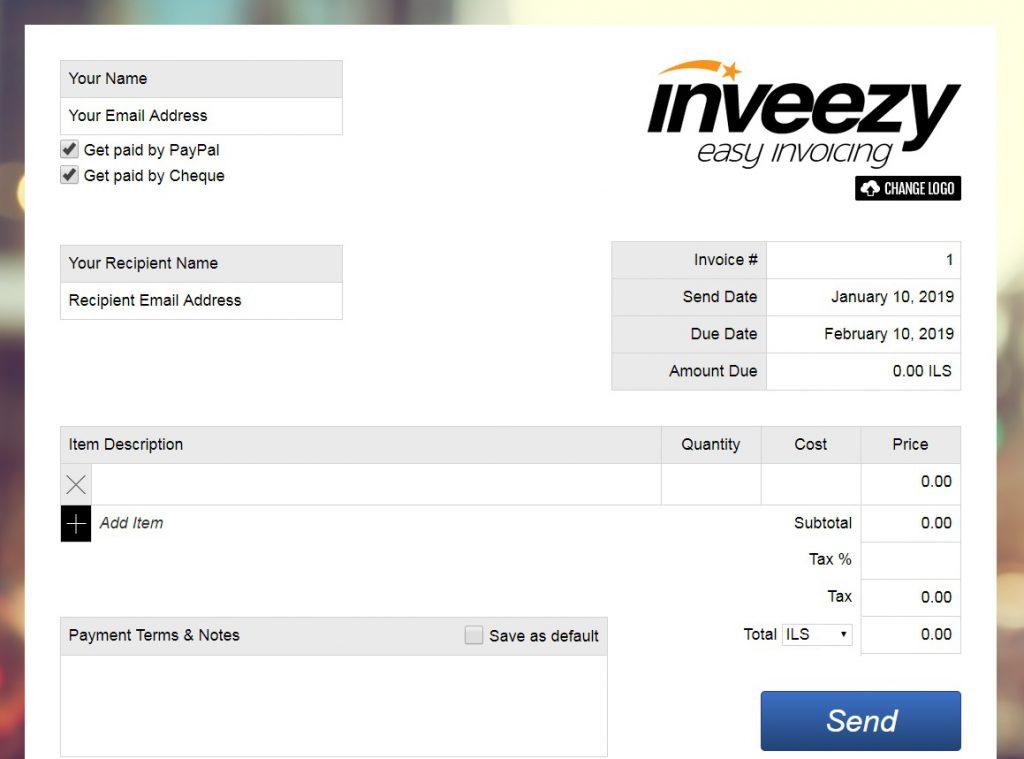 online invoice market inveezy