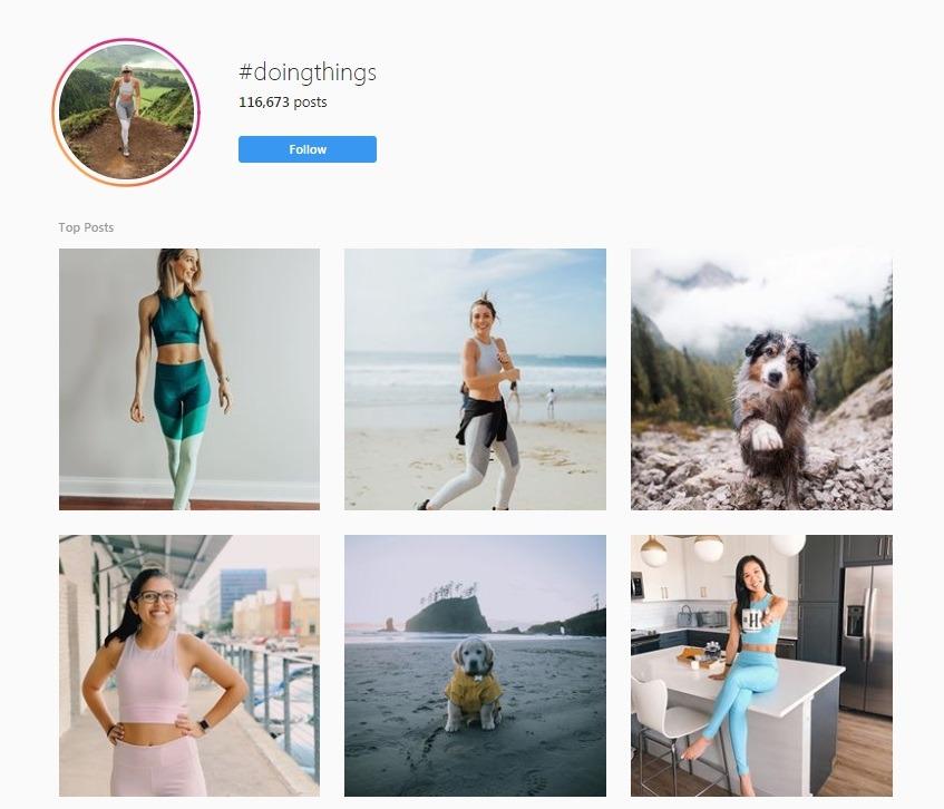 #doThings Instagram posts