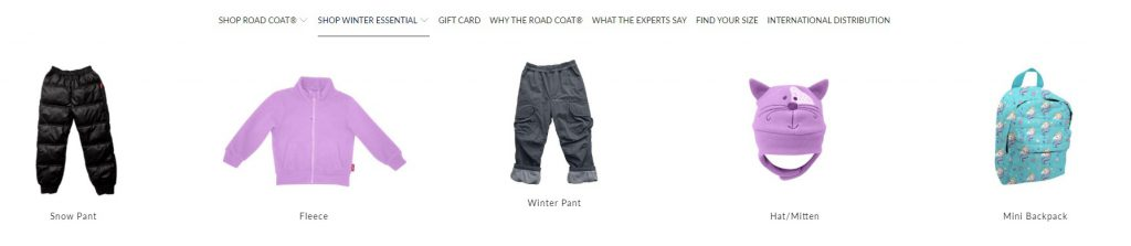 example of perfect eCommerce product from one kid