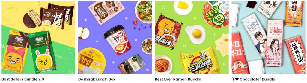 snack box subscription services