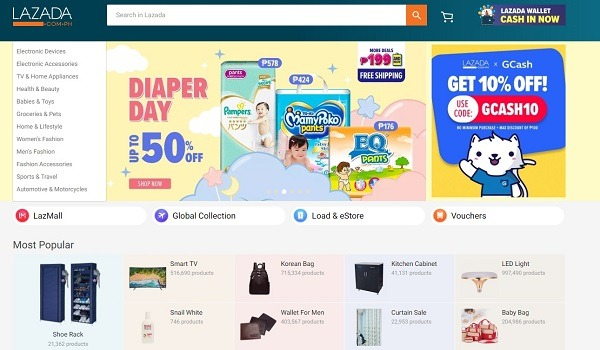 selling products in south-east asia on Lazada