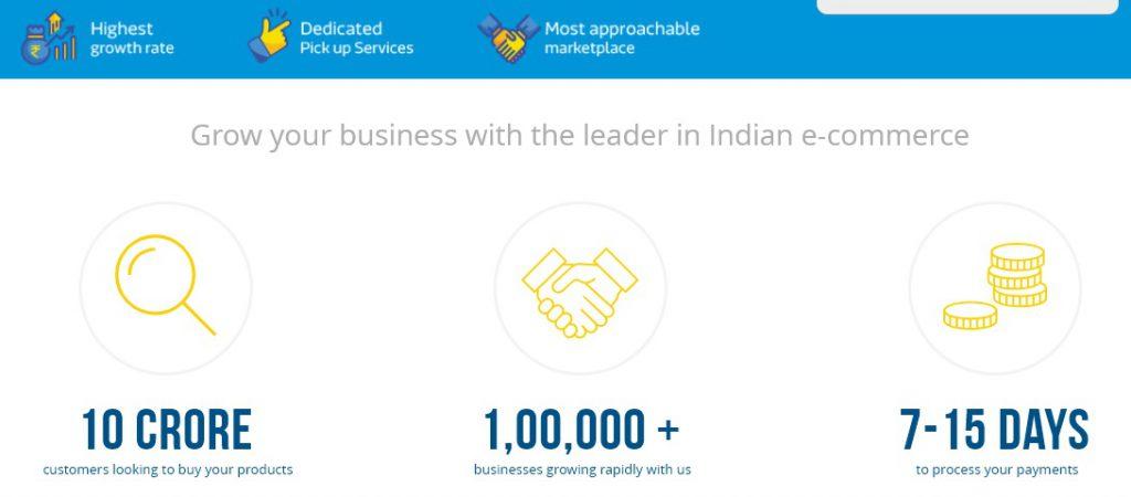 online markerplace in India - Flipkart