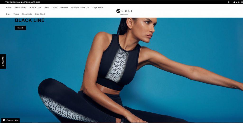 best online yoga pants store noli
