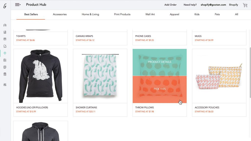 print on demand apps for shopify