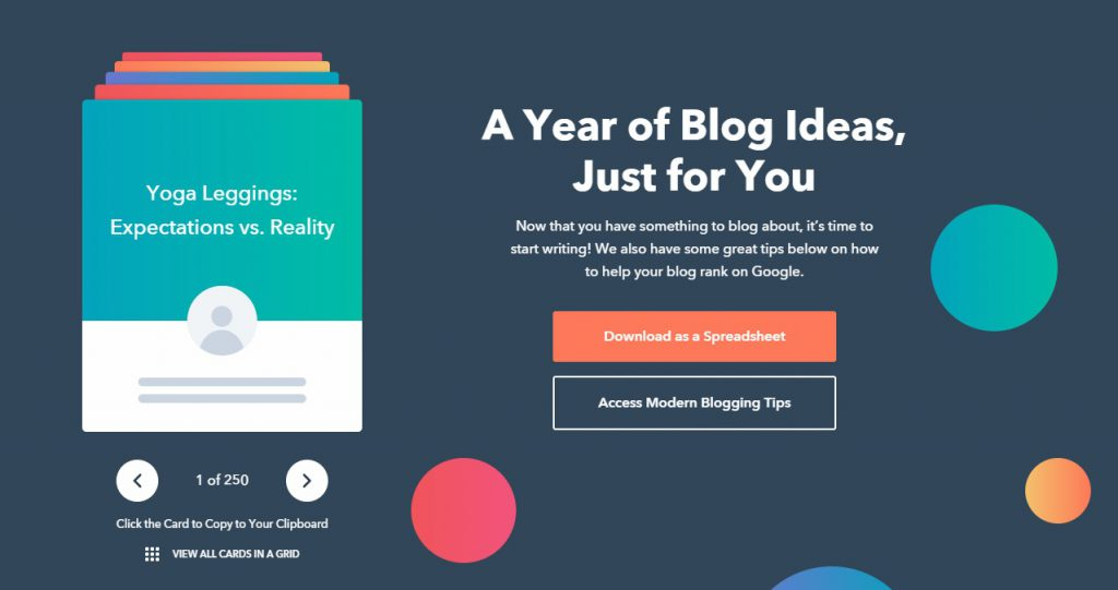 blog topic generator