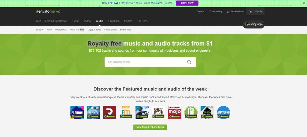 audio jungle music downloads