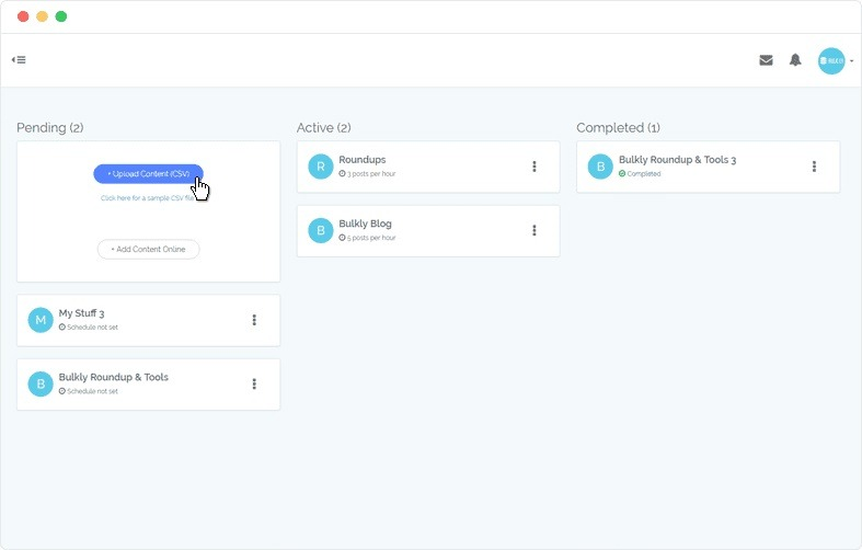 social automation tool